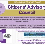 Join Us: Citizen's Advisory Council  Meeting Via Satellite