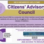 Join Us: Citizen's Advisory Council  Meeting Via Satellite