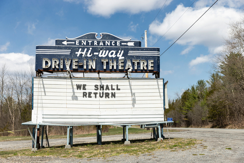 Invention of the Drive-in Theater