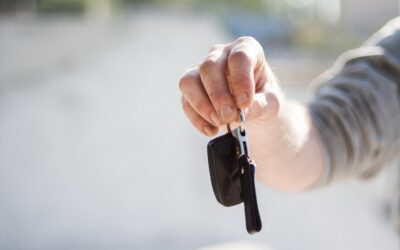 Who pays for the rental car after an accident in NJ?