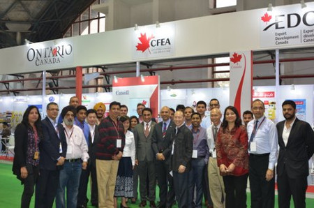 AAHAR 2015 in New Delhi