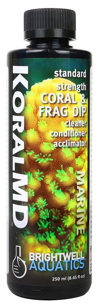 250ml Koral MD Coral and Frag Dip Cleaner Standard Strength - Brightwell Aquatics