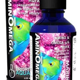 Brightwell Aquatics AminOmega - HUFA Omega 3/6 Supplement for Marine Fishes 125ml / 4oz