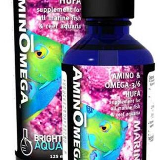 Brightwell Aquatics AminOmega - HUFA Omega 3/6 Supplement for Marine Fishes 60ml / 2oz
