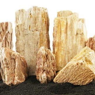 Burma Petrified Stone Mixed Freshwater Rocks - Small Set - Lifegard Aquatics