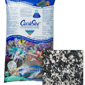 CaribSea Arag-Alive Indo-Pacific Black Sand 20 lb