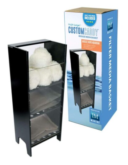 CustomCaddy with PurityPack Filter Media - Midsize - NUVO AUQA Gadget - Innovative Marine