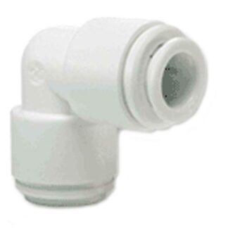 JG 1/4 inch x 1/4 inch Union Elbow - White