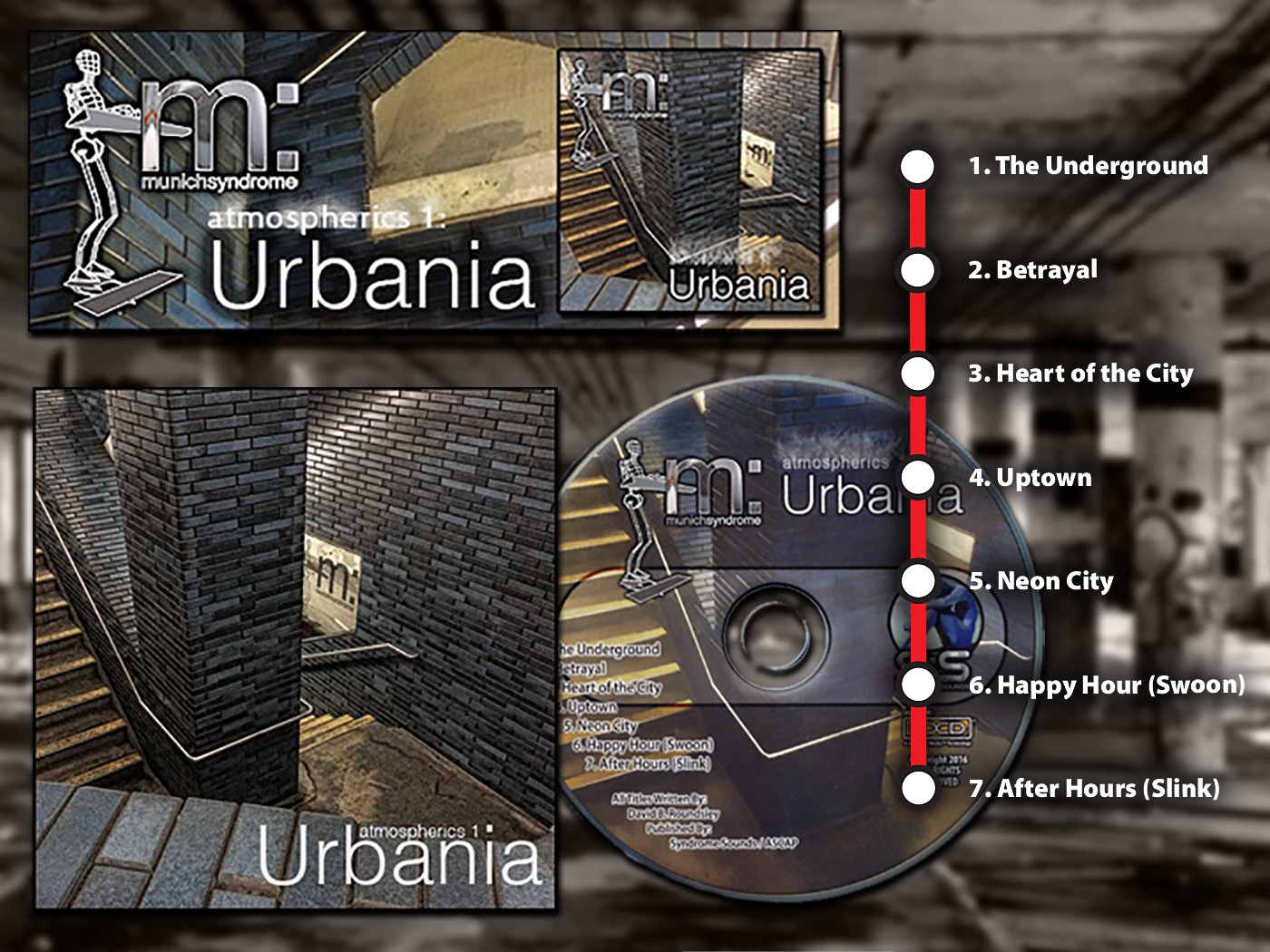 Atmospherics 1: Urbnania -A journey into the heart of the city