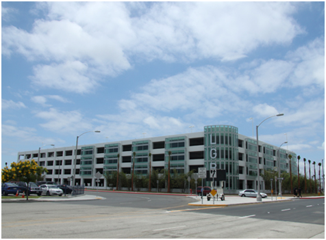 AIRPORT PARKING STRUCTURE LONG BEACH, CALIFORNIA