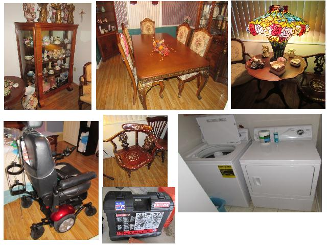 Estate Liquidation – Home Furnishings, Medical Equipment, Tools