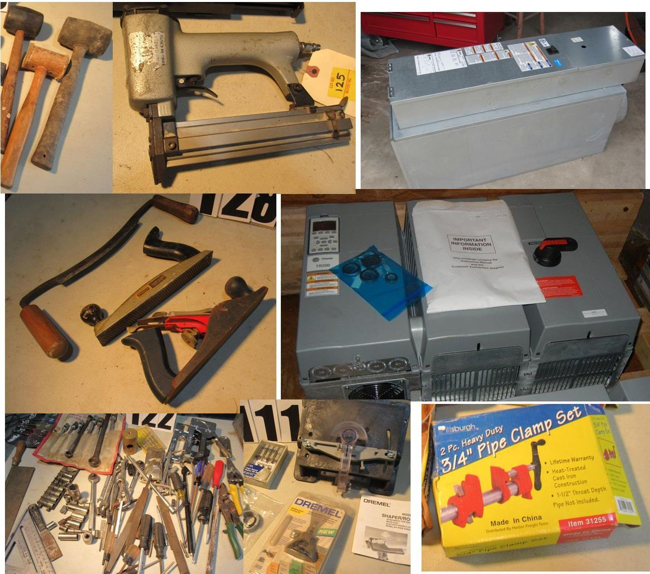 HVAC Equipment, Tools, Hardware