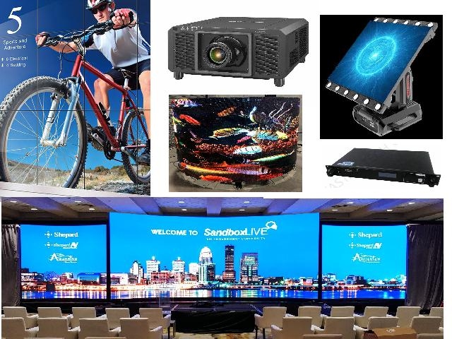 Audio Visual and Stage Rigging  Equipment