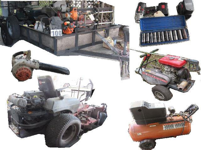 Spring Hill Lawn Service Business Liquidation Auction