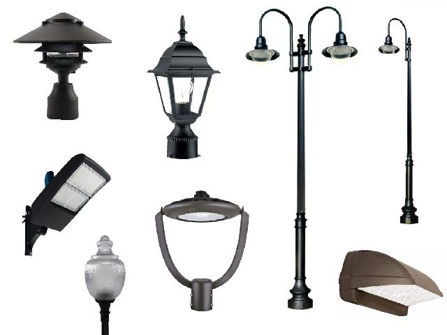 Outdoor LED Lighting Fixture Auction Liquidation