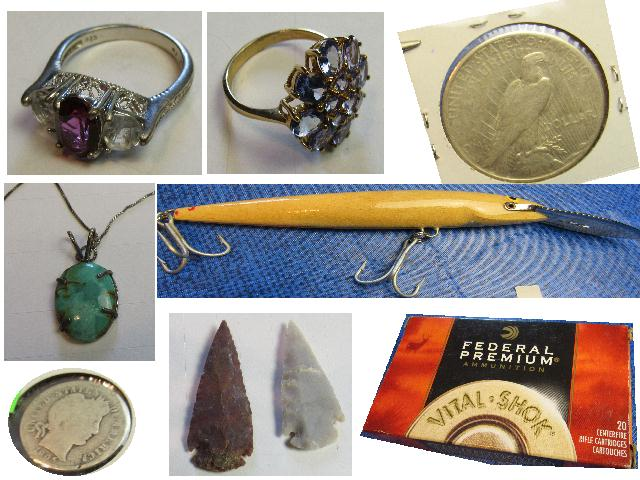 Jewelry, Coins, Collectibles, Fishing Lures, Ammo, Internet Auction