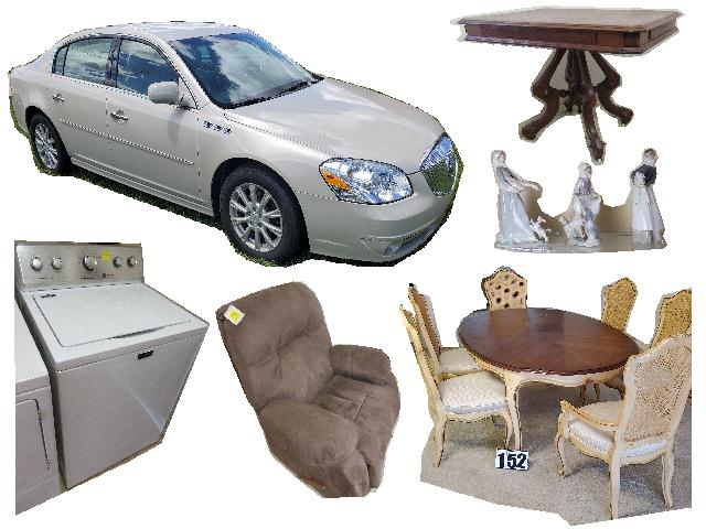 Estate 2011 Buick, & Home Furnishings Internet Auction