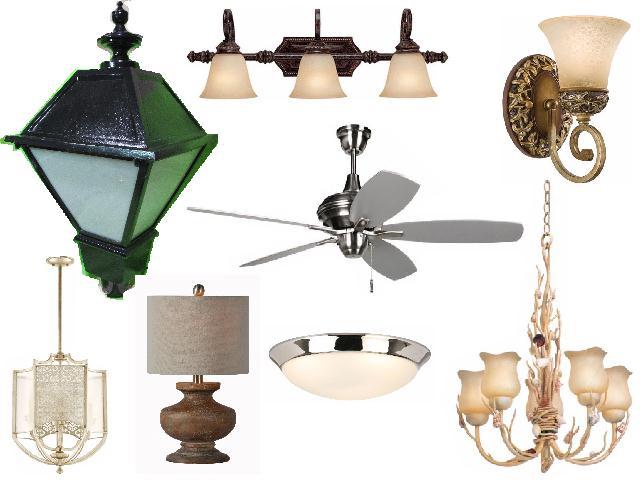 Residential Lighting Fixtures, Fans, LED Light Auction