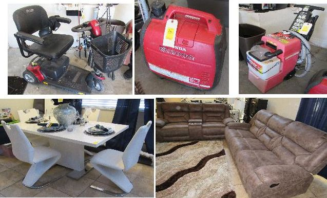Designer Home Furnishings Internet Auction