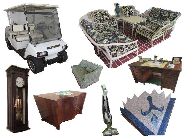 Quality Furnishings from Mountain Lake Mansion – Internet Auction