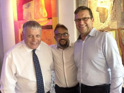 David Buffin, Taher Mulla and Paul Freeman