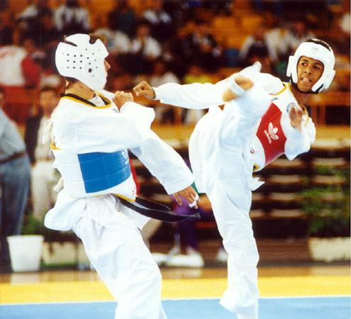 gergely-salim-taekwondo-match_1992-barcelona-olympic-gold-medal-win
