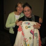 With Patricia Polacco and the Keeping Quilt