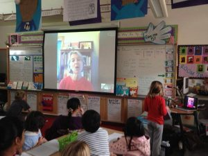 Skype with Miss Zapp's 2nds