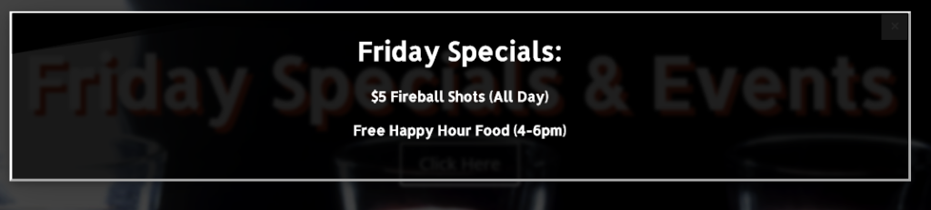 Fireball Shots Friday