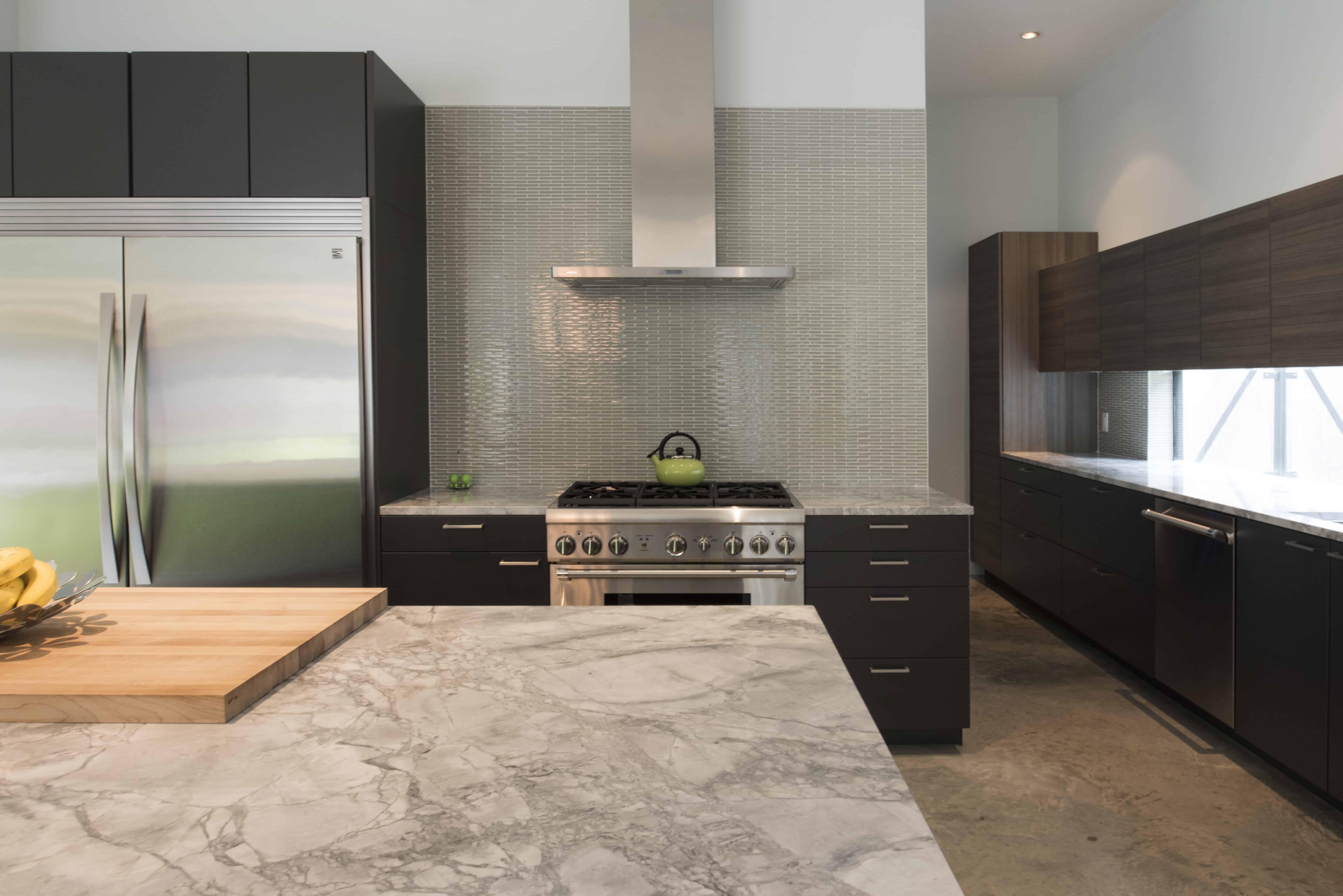 Garden Oaks Modern kitchen