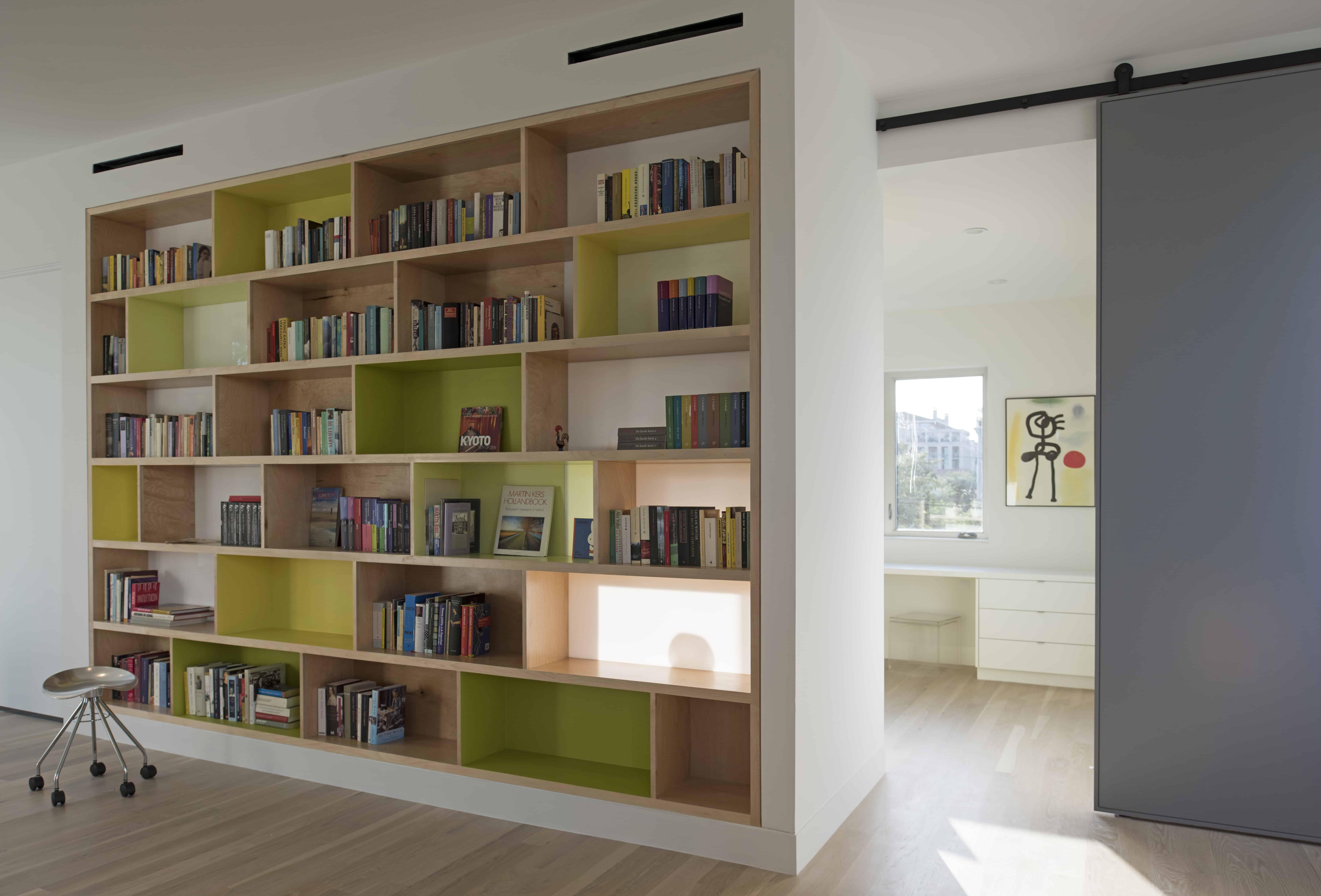 bespoke bookcase room divider