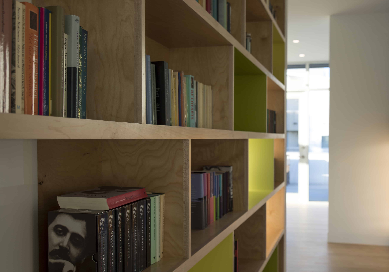 houston modern bookcase