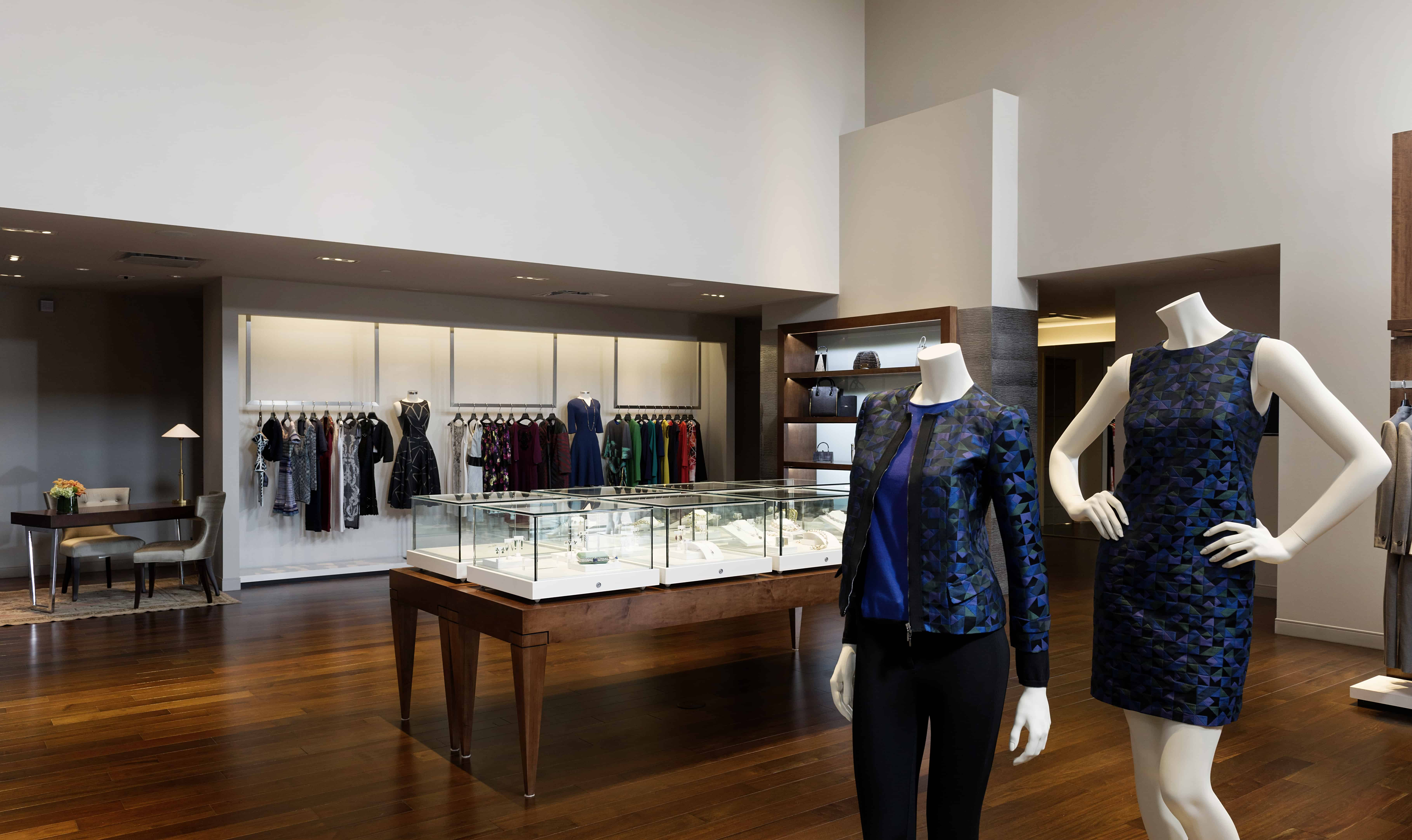 High end retail space