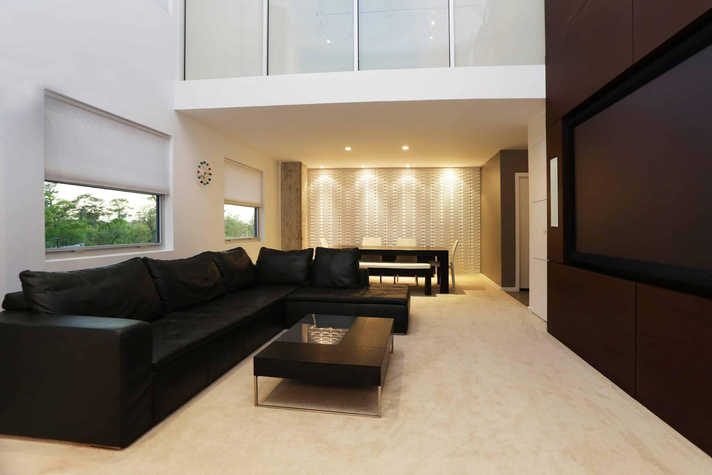 Memorial Luxury Loft bedroom industrial feel living