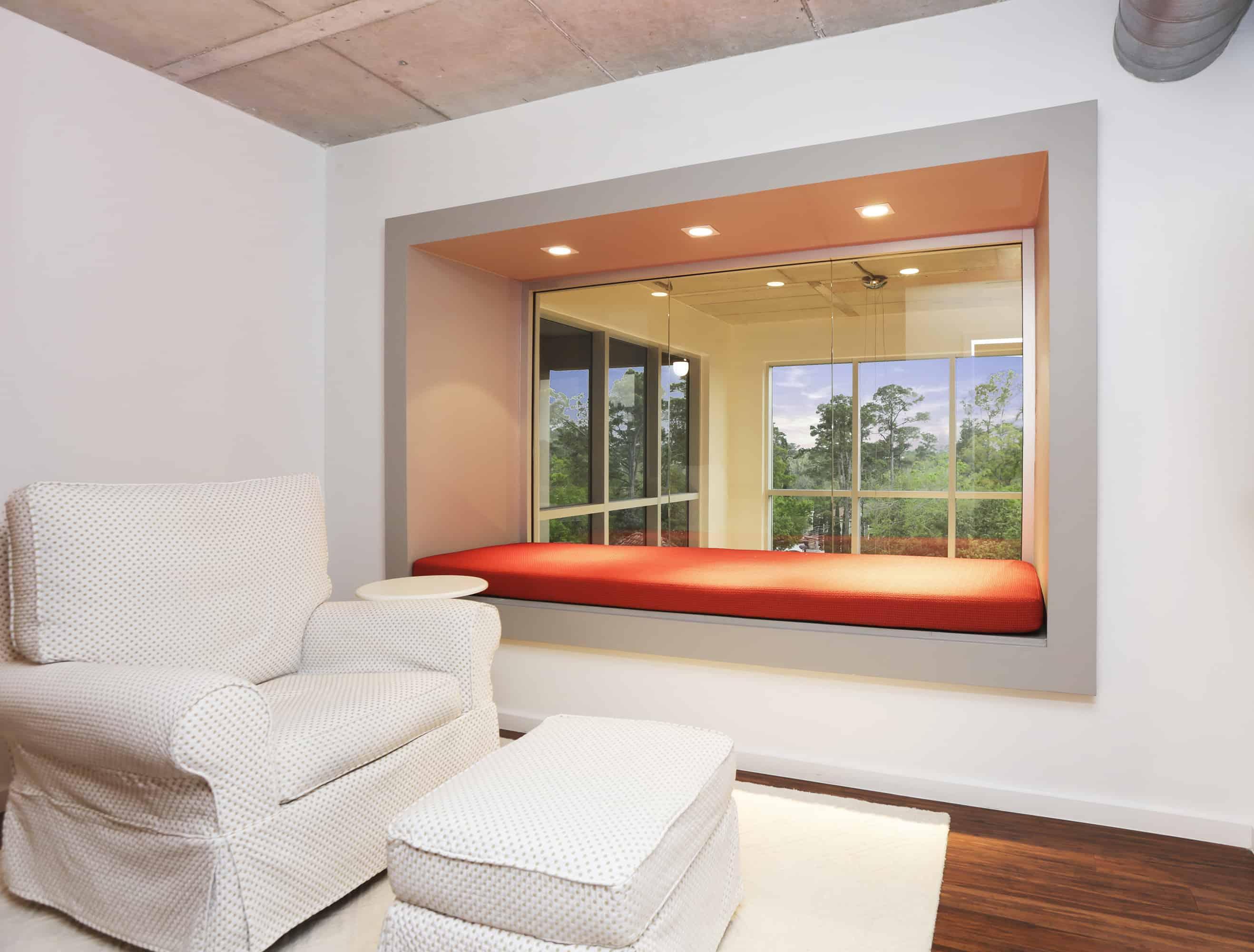 Memorial Luxury Loft window