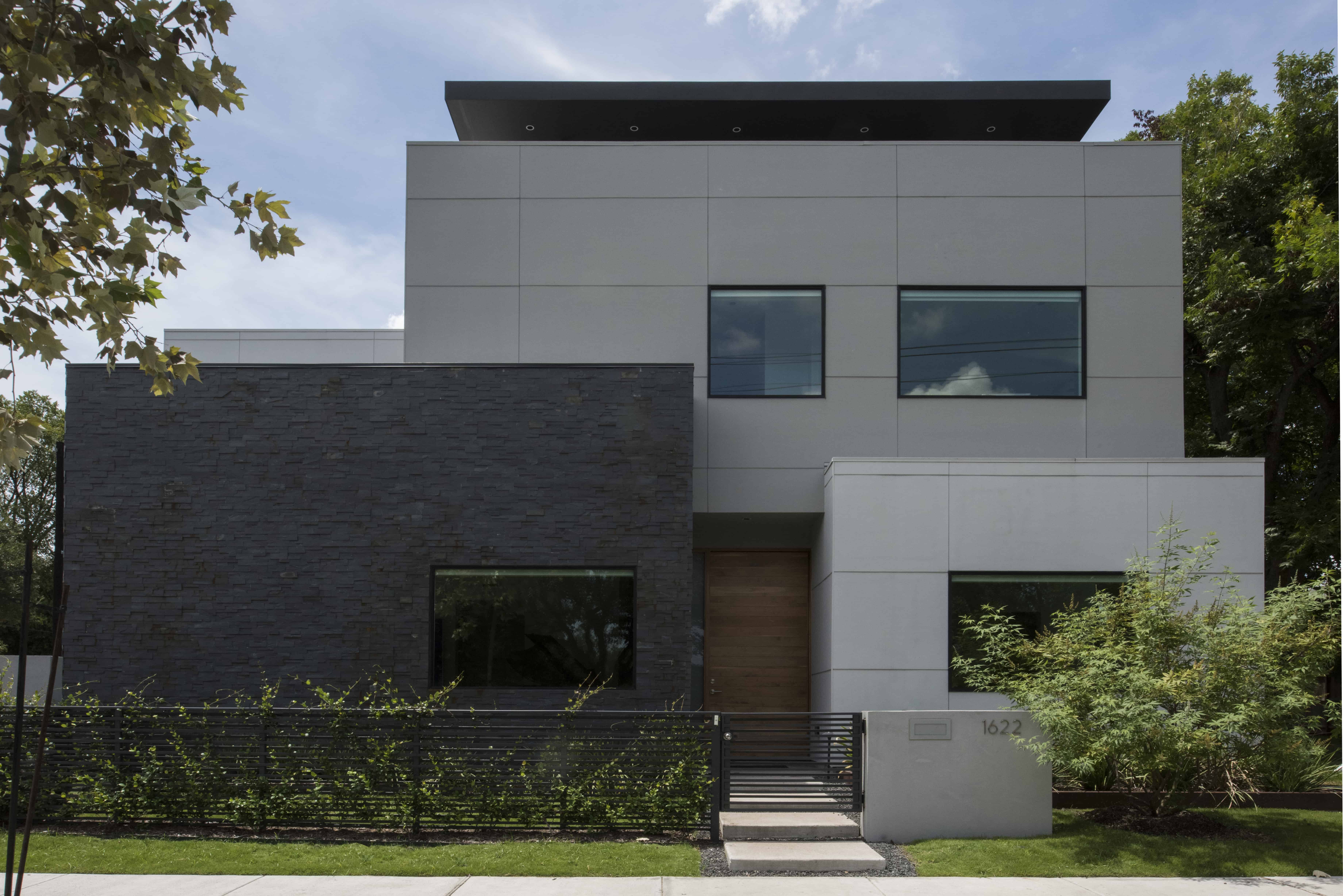 Empty Nester Modern Home with Lock and Leave and Aging in Place Features.