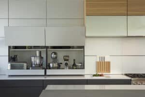 , The Storage Secret to Pulling Off Simple, Minimal Design in the Kitchen, Intexure Architects