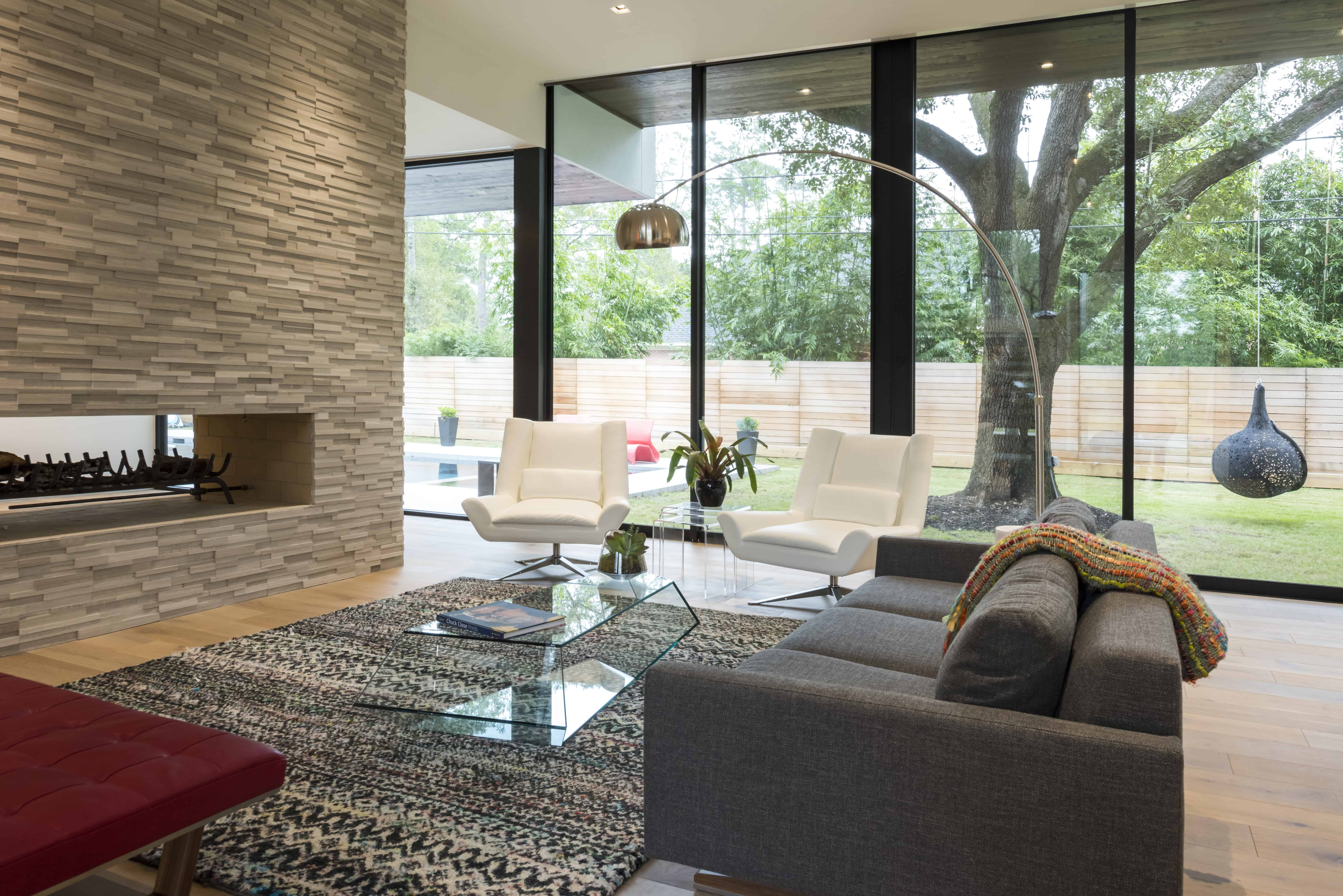 Warm Modern Home Piney Point Memorial Houston Living.