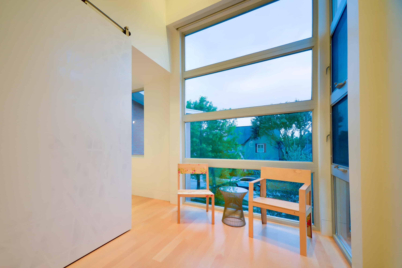 West U Modern Home window