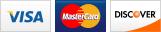 We accept Visa, MasterCard or Discover