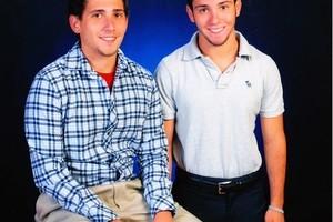 Justin and Austin