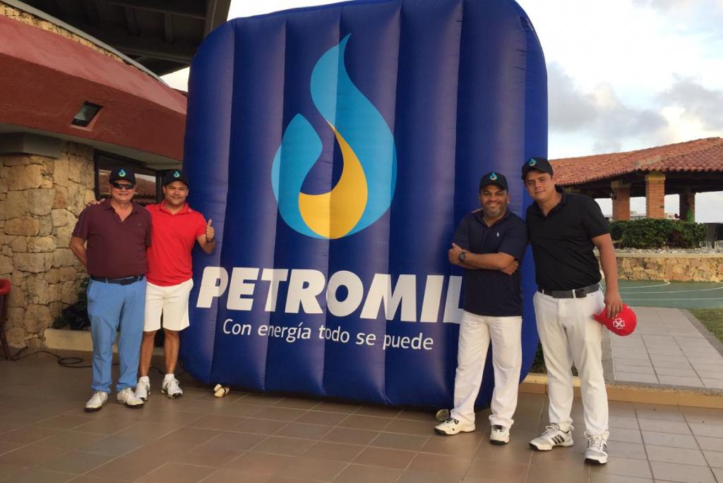 Petromil fue patrocinador de laCopa Quilla, un torneo de golf que logró reunir a más de 90 empresarios aficionados a este deporte.