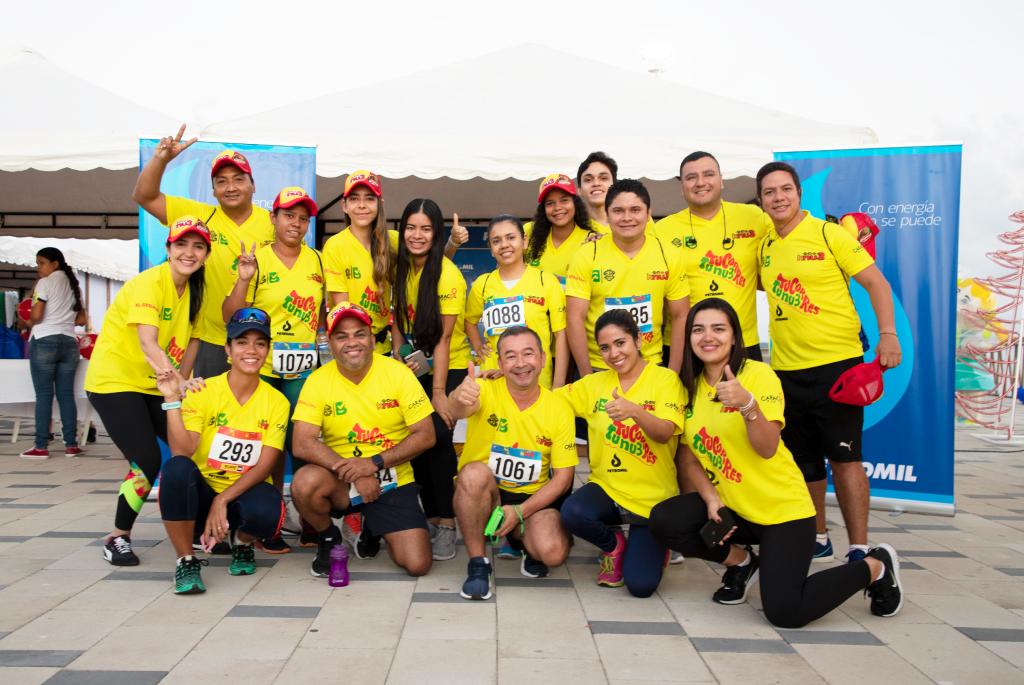 El evento organizado por laFundación Nu3 cumplió su tercera edición de la carrera a beneficio de la comunidad de Villa Clarín, ubicada en Magdalena.
