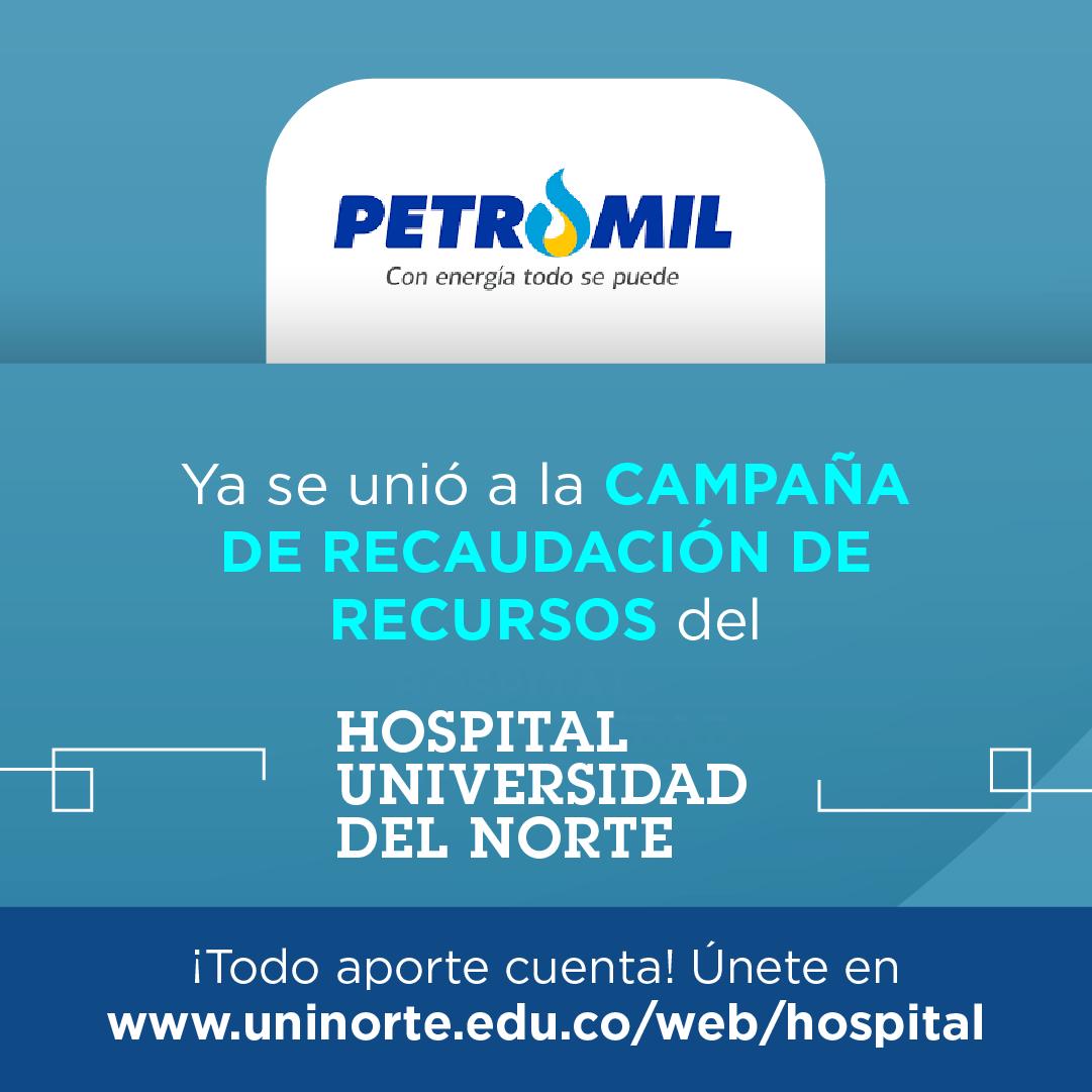 En el Atlántico nos unimos a la recolección de fondos del Hospital Universidad del Norte para comprar equipos médicos de protección y ayudar en los tratamientos de las personas infectadas.