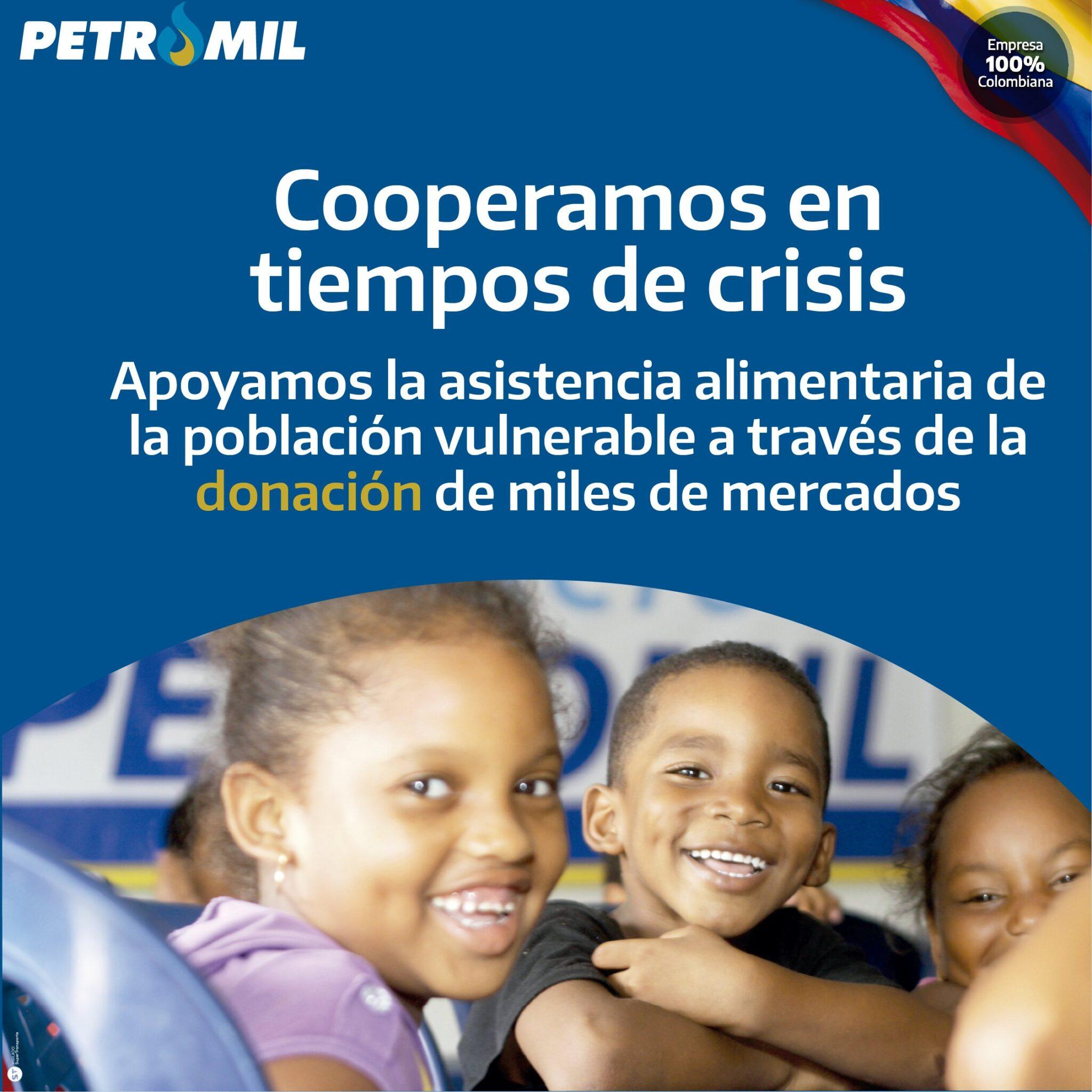 Participamos de la iniciativa de Probarranquilla con la donación de miles de mercados a las familias vulnerables de Barranquilla y los municipios del Atlántico.