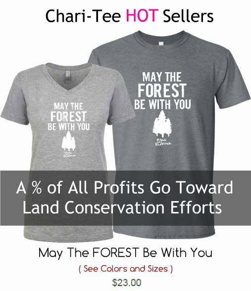 May The Forest Be With You Tshirt