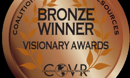 Atlantis Writhing Wins Bronze COVR Award