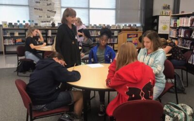 McIntosh Middle School Hosts Middle Grade Author McLaughlin
