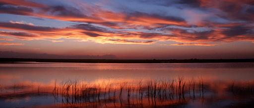 Bitter Lakes Sunset