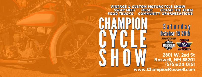 champion cycle show